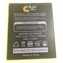 Nueva Pila Bateria Nyx Zeus Hd Modelo Nyx1600a74x60