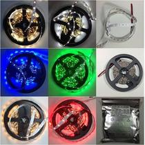 5m Tira De 300 Led 3528 Ip20, Rojo, V, Azul, Amarillo, R, Bc