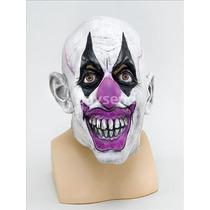 Máscara Del Payaso - Transparencia Scary Joker Disfraz Nuevo