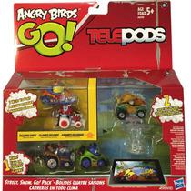 Angry Birds Go Telepods Street Snow Go Blakhelmet Sp
