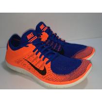 Nike Free 4.0 Flyknit Del 30 Mex A Un 95% De Vida Poco Uso