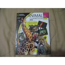 2004 Album Lleno Animal Champions National Geographic Panini