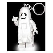 Lego Llavero Con Luz Led Fantasma Blanco Aventuras Js