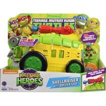 Tortuga Ninja Shellraiser Camion Con Leo