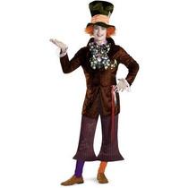 Disfraz De Sombrerero Loco Mad Hatter De Alicia Para Adultos