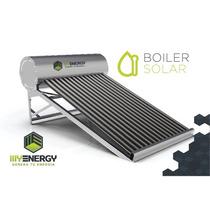 Boiler Solar Para Tortillerias Y Casa De 360 Lts. 30 Tubos