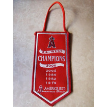 Banderin Anaheim Angels Ameriquest Mlb Baseball California
