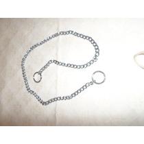 Collar De Castigo 65x.7cm Plateado Para Show Convencional