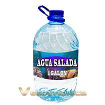 Agua Salada Para Fauna Marina Salada 100% Libre De Bacterias