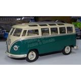 Volkswagen Bus 1962 Verde Combi Display Pasion Por Motor