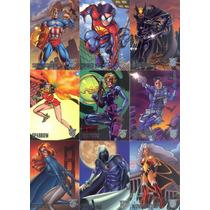 Marvel Vs Dc Amalgam 1996 Trading Card Set Completo Hm4