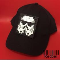 Gorras Con Figuras De Pixel O Hama Beads