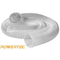 Powertec 70143 De 4 Pulgadas X 20 Pies De Pvc Flexible Recog