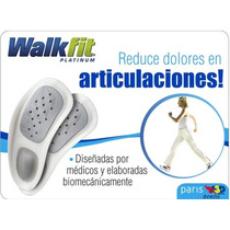 Plantillas Walk Fit Platinium