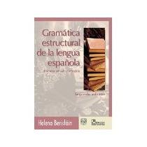 Libro Gramatica Estructural De La Lengua Española 2e