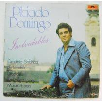 Plácido Domingo / Inolvidables 1 Disco Lp Vinil