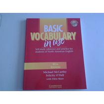 Libro Basic Vocabulary Con Respuestas Y Audio Cd