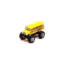 Monster Autobús: Die Cast Autobús Escolar Amarillo Grande 5