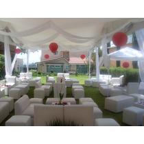 Renta Carpas,salas Lounge, Periqueras Madera