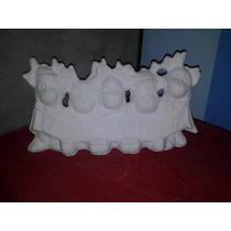 Oferta Alcancia De Yeso Ceramico De Renos Feliz Navidad