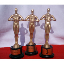 Estatuilla Premio Oscar Hollywood Personaliza 19cm