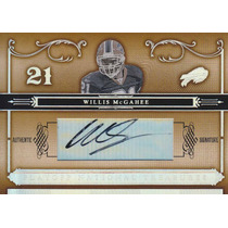 2006 National Treasures Autografo Willis Mcgahee 73/97 Bills