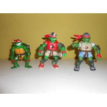 Lote De 11 Figuras De Tortugas Ninja Playmates Y Otros