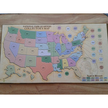 Mapa Album Colecionador De Cuartos De Dollar National Park
