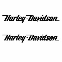 Sticker - Calcomania - Vinil - Logo Harley Davidson Slim