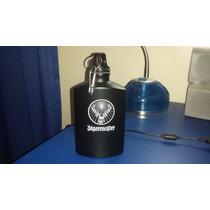 Botella Agua Jägermeister Cantimplora Aluminio 18oz Impor.