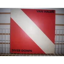 Van Halen - Diver Down Lp Vinil Nacional En Muy Buen Estado