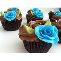 Charola Minicupcakes Para 28 Reposteria Panaderia Boda Xv