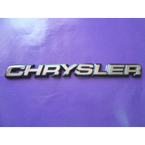 Emblema Chrysler Shadow Spirit Lebaron Phantom New Yorker