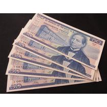 Billete 50 Pesos Juarez Y Urna Zapoteca 5 Consecutivos