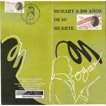 Emisión 91, Mozart 200 Años De Su Muerte Primer Dia Vbf