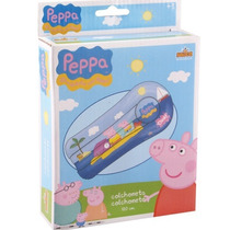 Colchon Inflable Infantil Peppa 1.20mts Alberca Camita E4f
