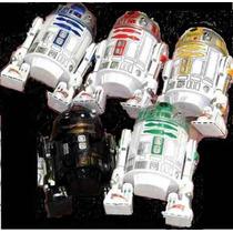 Star Wars / R2d2 / Set 5 Imanes Robots Modelo R2 Japoneses
