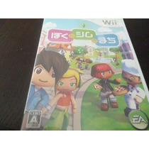 Wii Japone. The My Sims