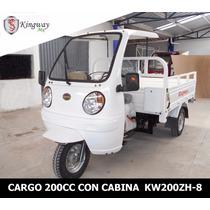Motocarro De Carga Con Cabina 200 Cc