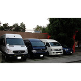 Renta De Camionetas 6 A 20 Pasajeros, Con Chofer, Viajes