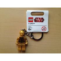 Llavero C3po Minifiguras Star Wars Lego Ugo