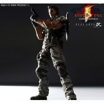 Play Arts Kai Square Enix Chris Redfield Resident Evil 5