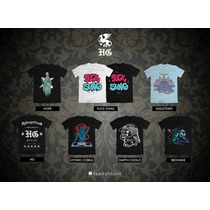 Camisetas Hip Hop Linea Hg De Hydrogrificos