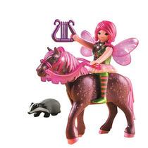 Playmobil Bosque De Hadas Surya Con El Caballo