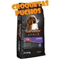 Ganador Premium Cachorro 20 Kg Croquetas Puchos