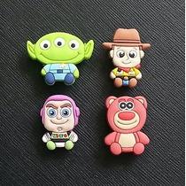 Jibbitz O Pines Para Crocs De Toy Story, Set De 4 Piezas