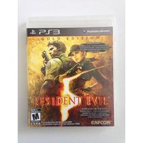 Residen Evil 5 Gold Edition Ps3 Excelente Estado