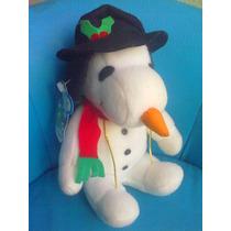 Snoopy De Peluche Disfrazado Navideno