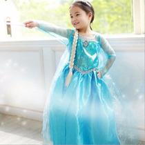 Vestidos Disfraces Disney Frozen Niñas