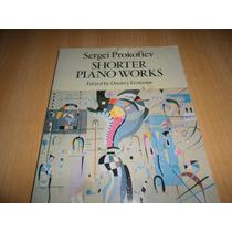 Vendo Libro Partituras De Prokofiev Shorter Piano Works